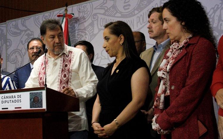 Fernández Noroña se retracta de acusaciones a diputada