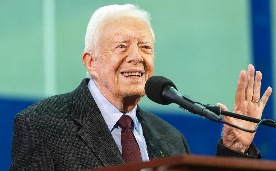 Jimmy Carter: hospitalizan a ex presidente de EU