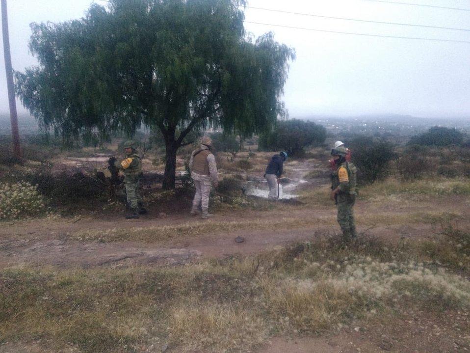 Controlan fuga de combustible en San Agustín Tlaxiaca - Milenio