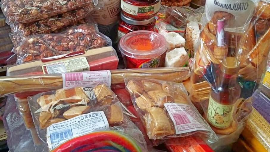 Charamuscas, dulces típicos de Guanajuato