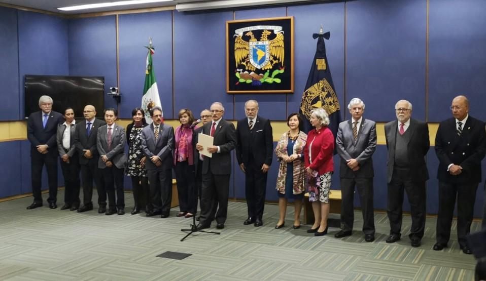 Graue es reelecto como rector de la UNAM para el periodo 2019
