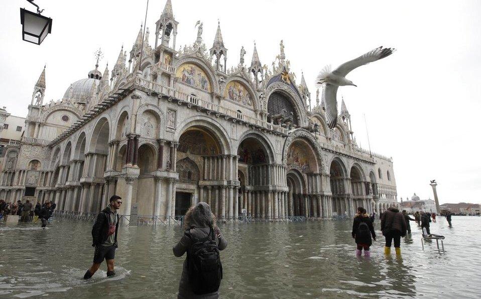 Venecia: inundación amenaza basílica de San Marcos - Milenio