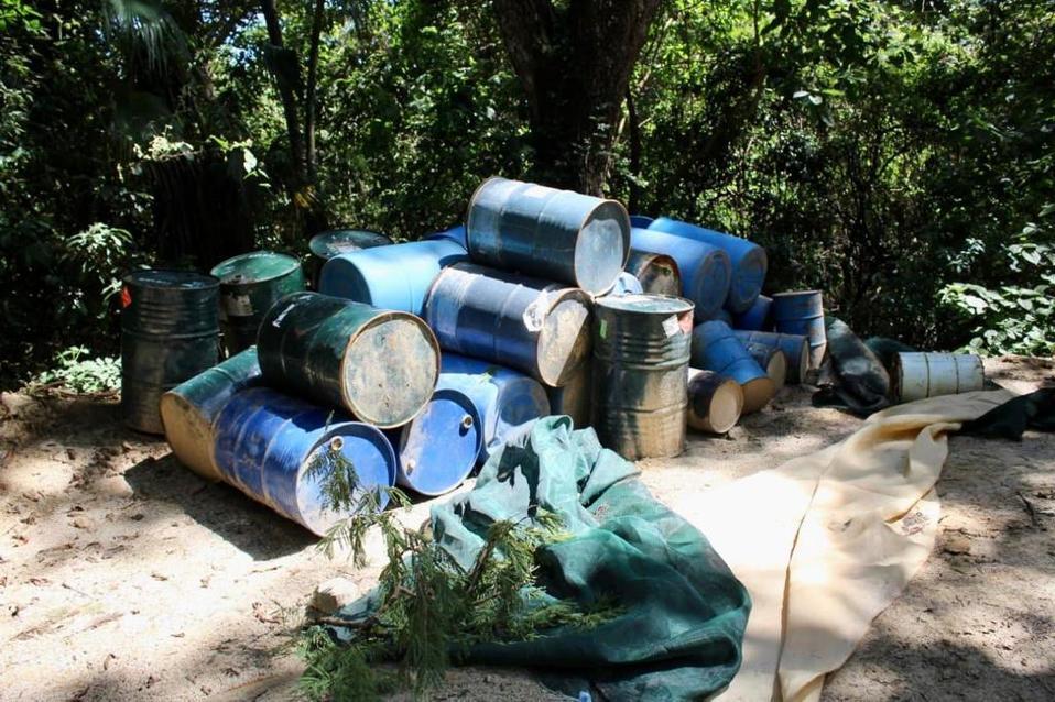 Jalisco: Ejército asegura narcolaboratorio en Jilotlán de los Dolores - Milenio