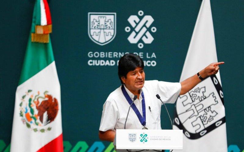 Evo condena el respaldo de Trump al gobierno de Bolivia