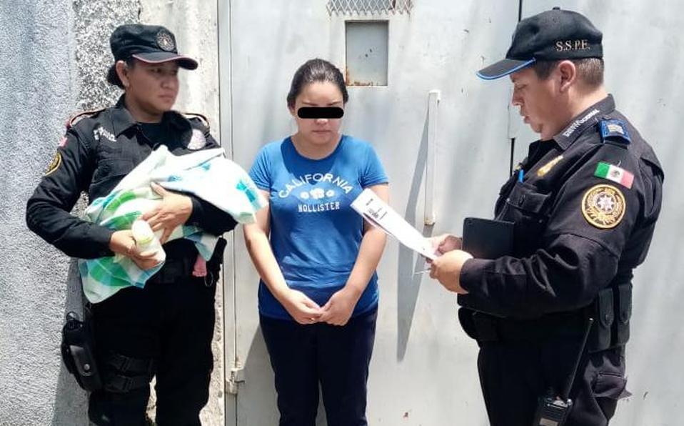 Liberan a mujer que robó a bebé en hospital de Guadalupe, NL - Milenio