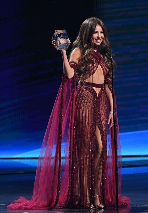 Thalía Y Su Vestido De Más De 100 Mil Que Usó En Los Latin