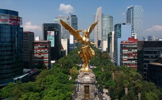 Así fue la restauración del Ángel de la Independencia tras sismo - Milenio