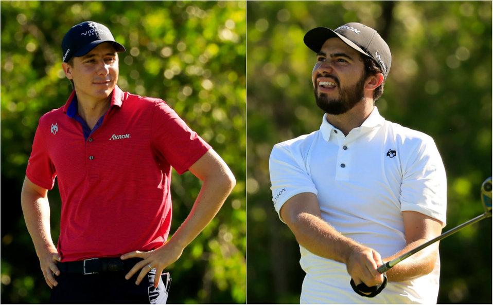 Los hermanos Carlos y Álvaro Ortiz quieren conquistar el Mayakoba Golf - Milenio