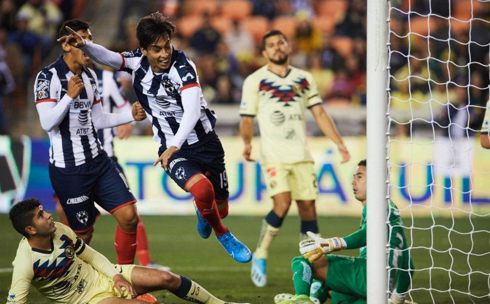 América cae en amistoso contra Monterrey en Houston - Milenio