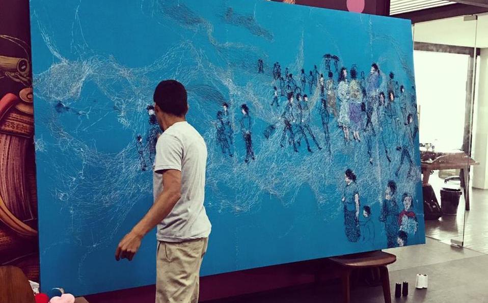 Gabriel Salvador Cruz llega con su obra singular a la CdMx - Milenio