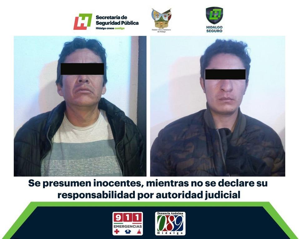 Aseguran a dos tras presunto asalto en taquería de Pachuca - Milenio