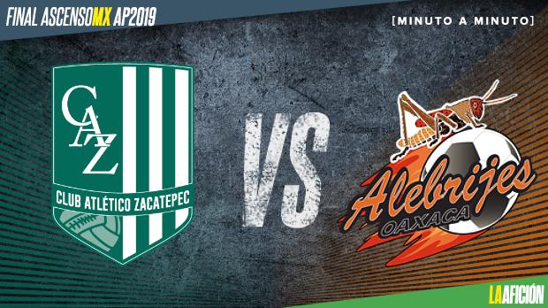 Zacatepec Vs Alebrijes Final Ascenso Mx 1 3 Goles Y Resumen