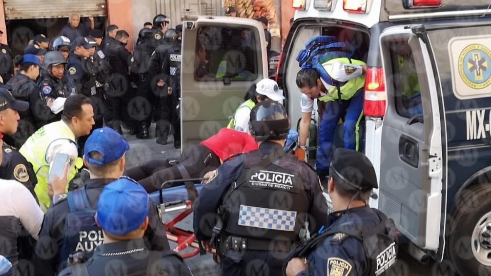 Balacera cerca de Palacio Nacional deja dos muertos