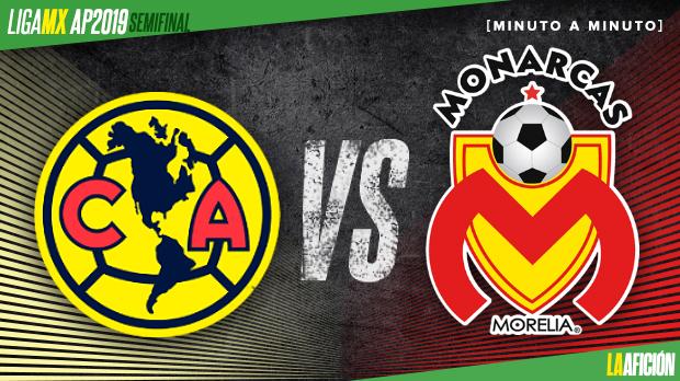 América vs Morelia, Semifinal vuelta Liga MX (2-0 ...
