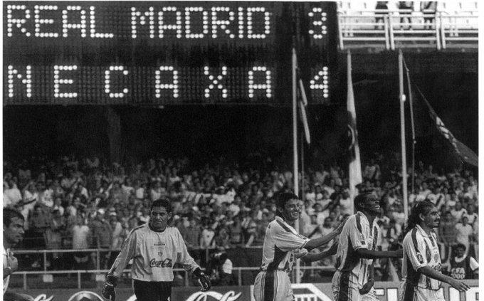 Mundial de Clubes: Necaxa enfrentó al Real Madrid y Manchester United
