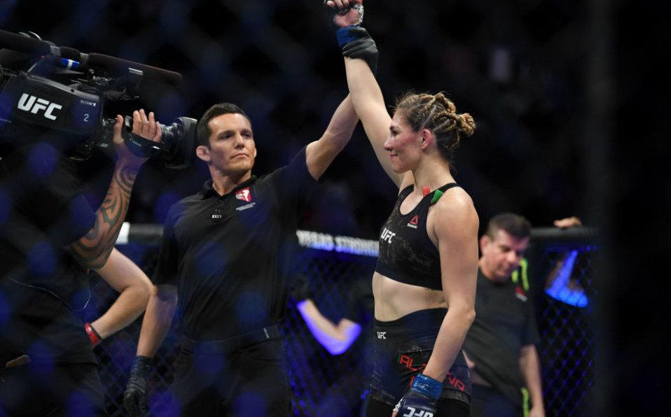Irene Aldana: La mexicana sorprende y hace historia en UFC 245