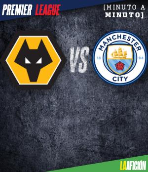 Wolves vs Manchester City (0-1), en vivo y en directo: Premier League