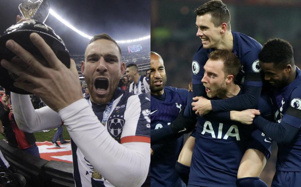 Tottenham felicita Vincent Janssen y Monterrey tras ser campeones