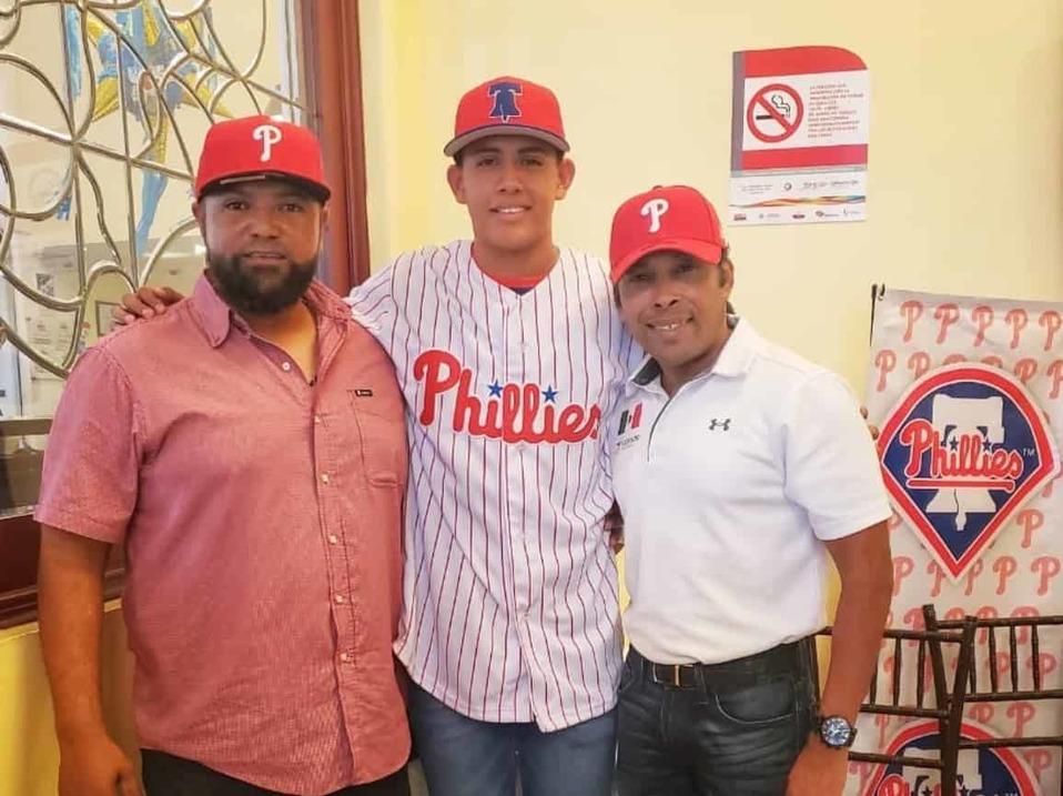 Jared Loyo: mexicano de 16 años firma con Phillies de Philadelphia
