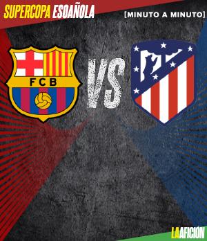 Barcelona vs Atlético de Madrid: GOLES Y RESUMEN
