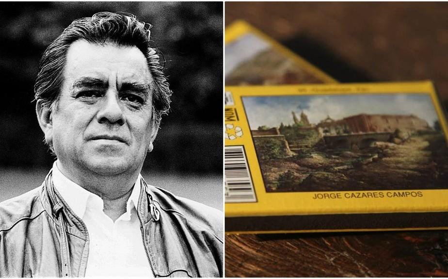 Jorge Cázares: muere el autor de las pinturas de las cajas de cerillos