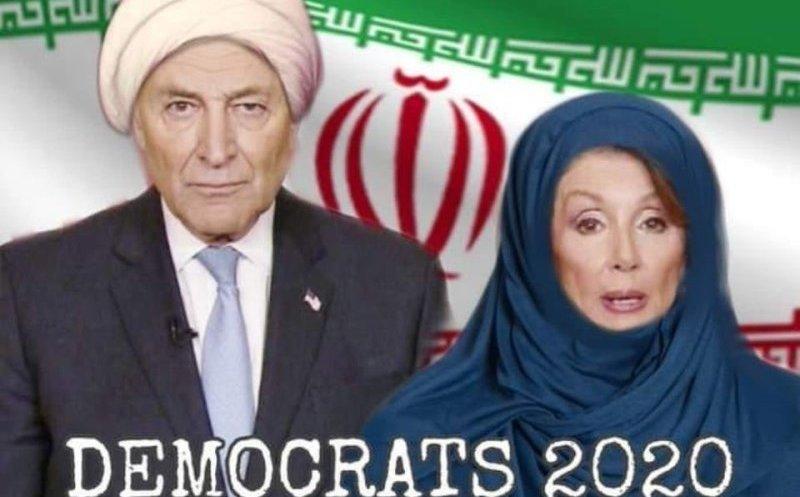 Trump describe a adversarios demócratas como aliados de Irán
