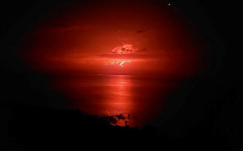 Volcán 'La Cumbre'entra en erupción en Islas Galápagos