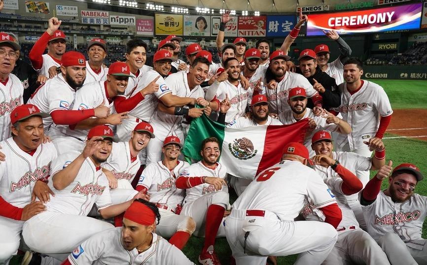 Selección mexicana de beisbol sube al quinto lugar del ranking mundial