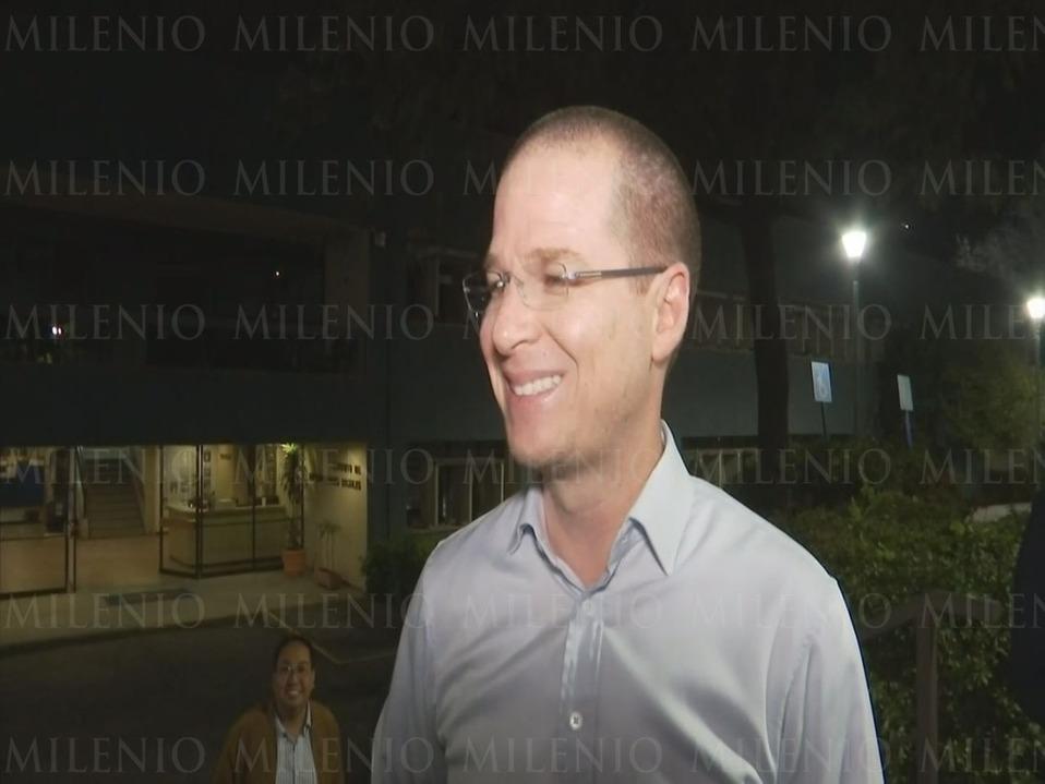 Ricardo Anaya reaparece en la UNAM