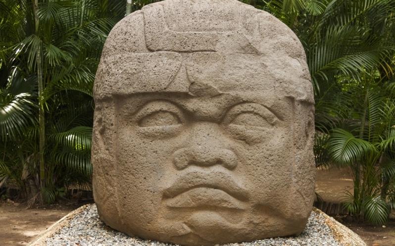 Cabeza Olmeca exponen los mayores secretos de monumento