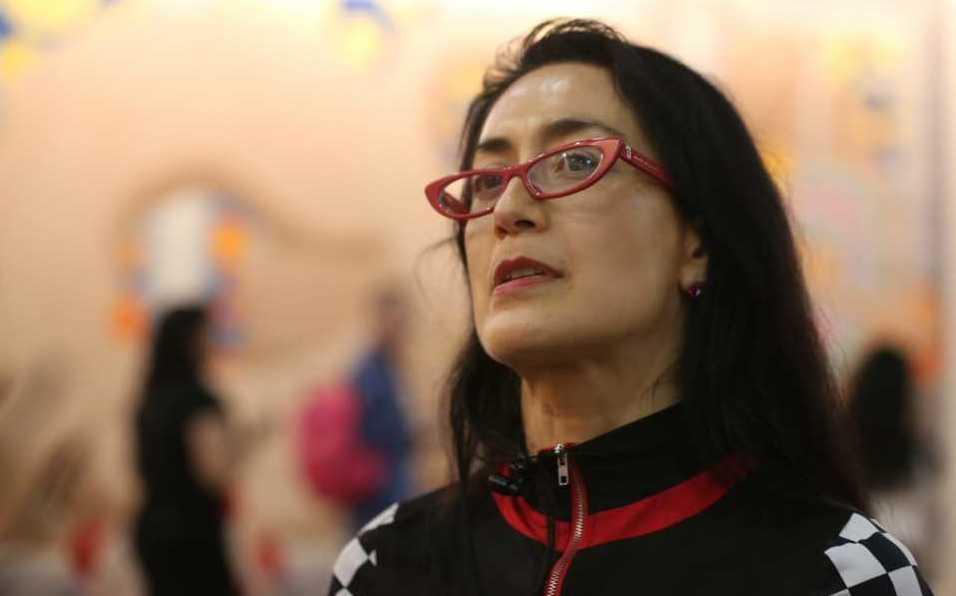 Avelina Lésper en Zona Maco: el arte no es especulación financiera