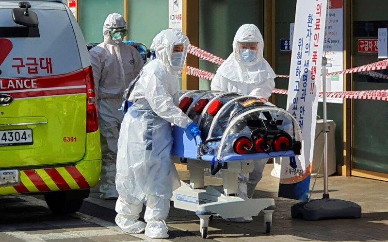 Corea del Sur registra primer muerto por coronavirus