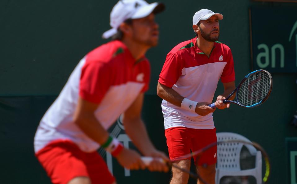 México y Finlandia inician con empate en la Copa Davis