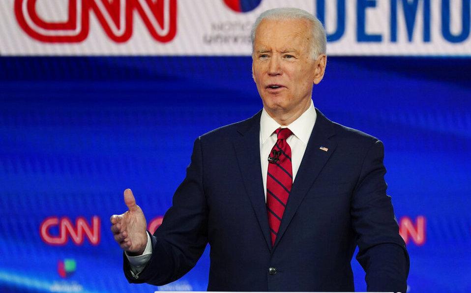 Pese a coronavirus, Joe Biden gana en tres primarias demócratas de EU