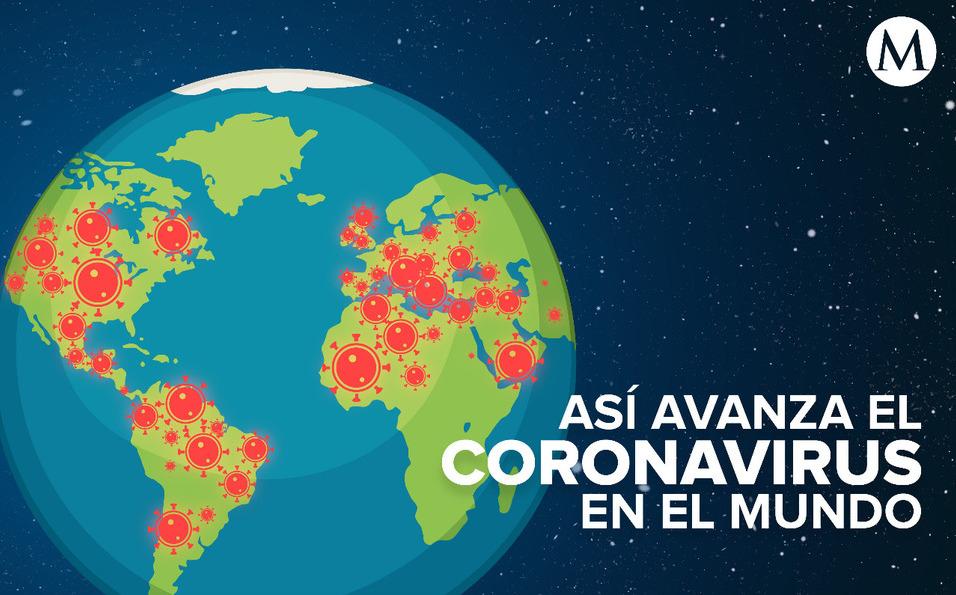 Coronavirus. Mapa mundial en tiempo real – Noticias Mexico