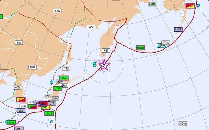 En Rusia, terremoto de magnitud 7.5 sacude las Islas Kuriles
