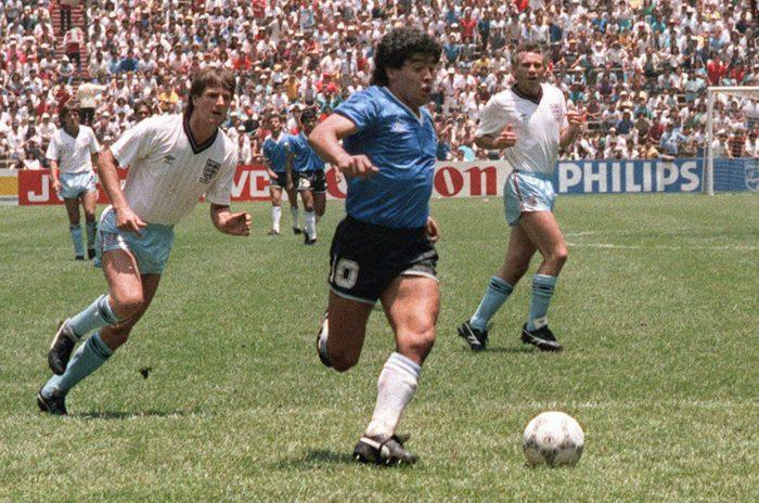 Argentina Busco Jersey 48 Horas Antes De Jugar Mundial 1986