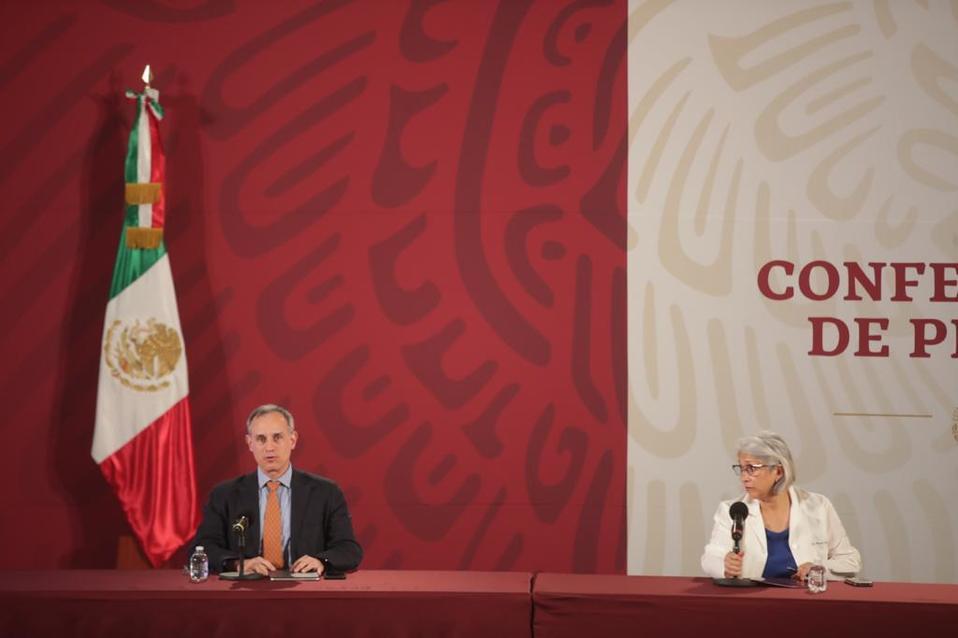 Son ya 546 defunciones por coronavirus en México