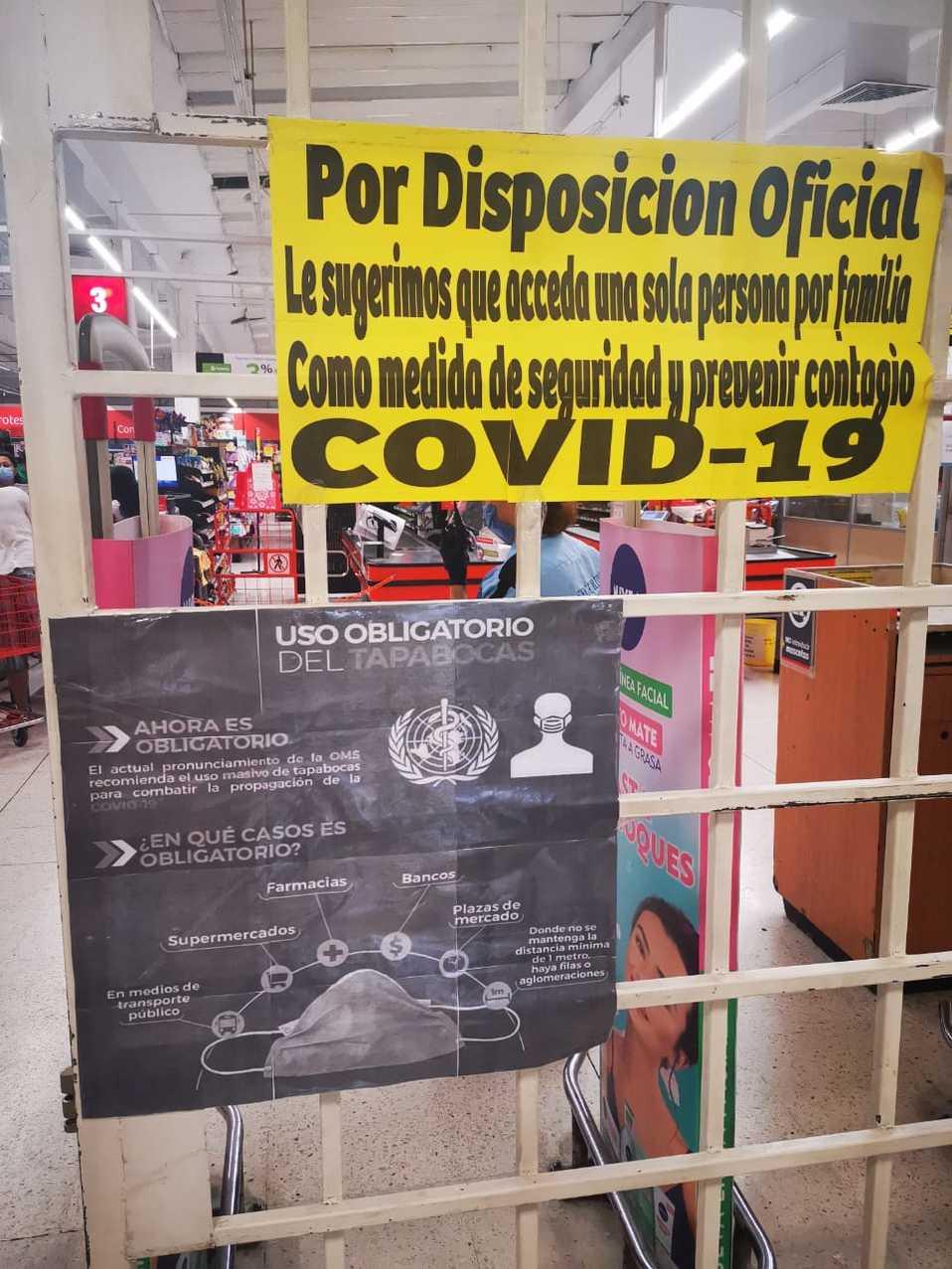 Cómo es ir al supermercado durante coronavirus en CdMx y Edomex