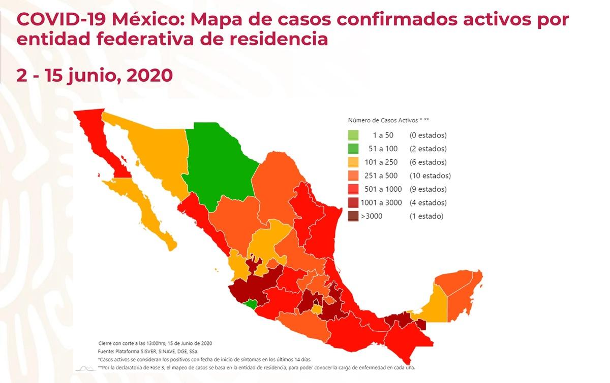 Coronavirus. Conferencia sobre situación en México 15 de junio 2020