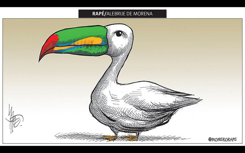 Alebrije de Morena - Rapé