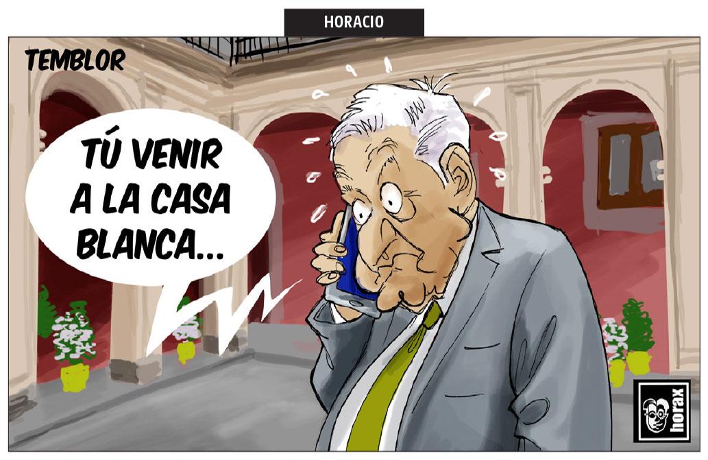 Temblor.- Horax