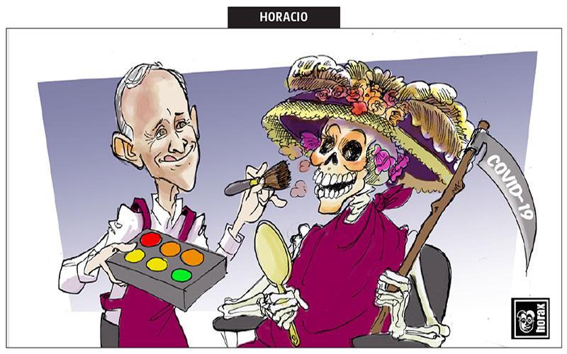 El maquillista - Horax
