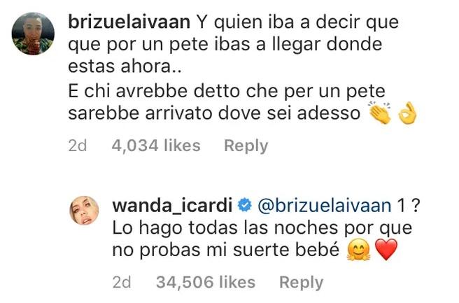 Zaira Nara atacó a Natalie Weber para defender a Wanda Nara