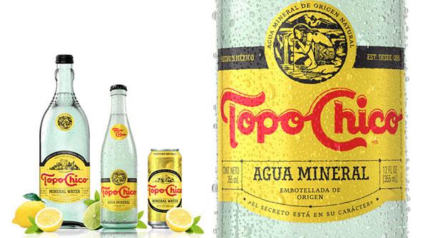 Coca-cola lanza Topo-chico con alcohol para finales de este 2020