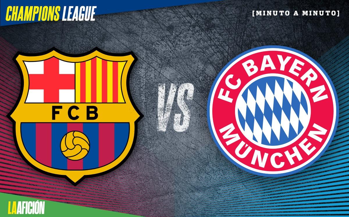 Barcelona Vs Bayern Munich Champions League 2 8 Goles Y Resultado