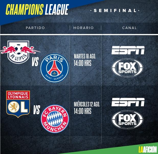 PSG golea al Leipzig y va a la final de la Champions