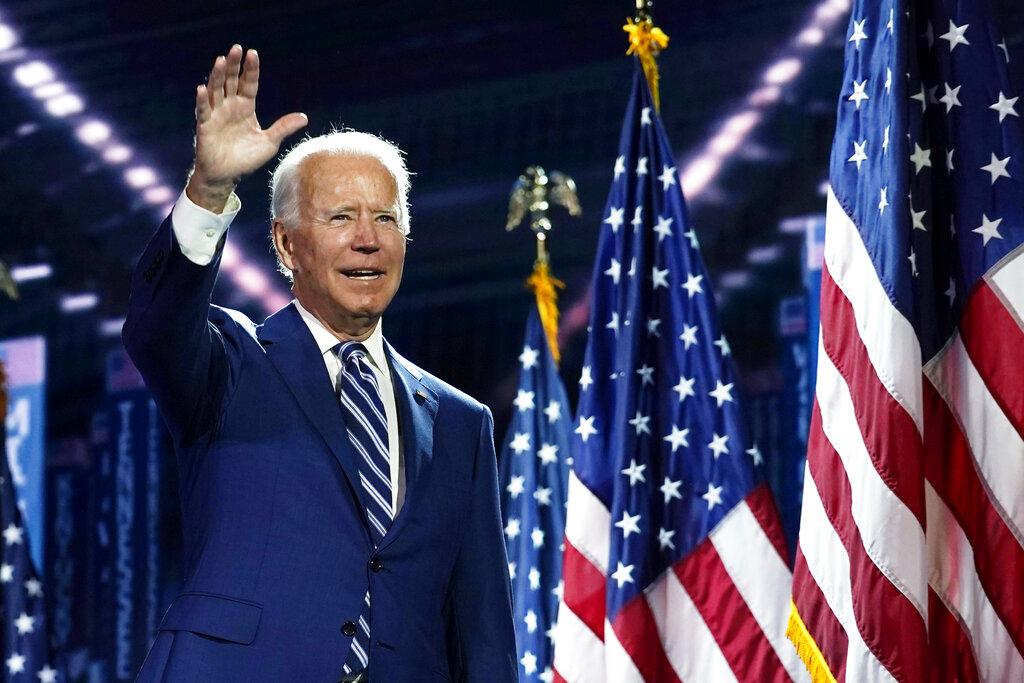 Joe Biden acepta la candidatura demócrata a la Casa Blanca