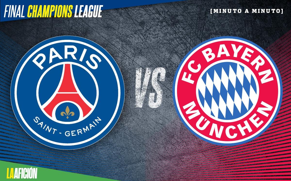 PSG Vs Bayern M U00fanich Final Champions League 0 1 GOL Y