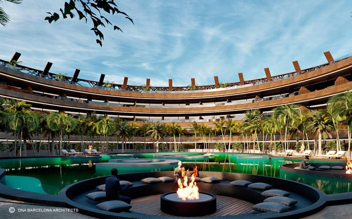 vista del prximo cocoon hotel & resort